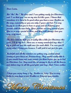 Letter from Santa New 2013 6