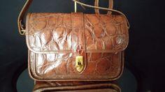 Authentic Dooney And Bourke Rare Brown by frankiesfrontdoor