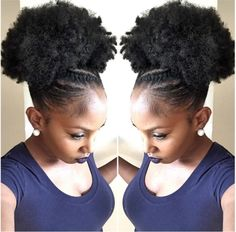 Flawless Puff @mel_spice - http://community.blackhairinformation.com/hairstyle-gallery/natural-hairstyles/flawless-puff-mel_spice/ #naturalhairstyles