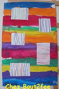 geschilderde en getekende lijnen