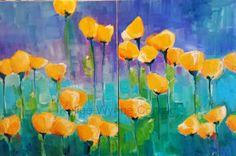 Kellee Wynne Conrad Fine Art: New Series: Botanical Abstracts