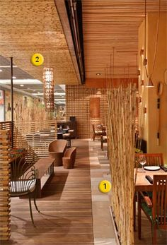 Restaurantes e bares inspiradores - DECORAÇÃO