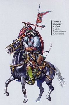 Alan noble warrior, 10th - 11th century