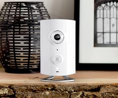 Piper - It's a home security device with a built-in HD fisheye camera that notifies you of security events by call, text, or email. It also features environmental sensors and pairs with Z-Wave accessories like door sensors and smart switches for full control of your home, from your phone. | via werd.com