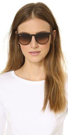 Ray-Ban Erika Sunglasses - ray bans cheap for gift. Ray Ban Erika Sunglasses, Sunglasses Women, Sunglasses Outlet, Oakley Sunglasses, Spring Sunglasses, Heart Sunglasses, Ray Bans, Ray Ban Mujer, Lunette Ray Ban
