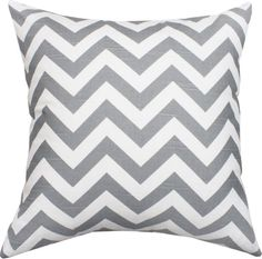 Just ordered the fabric and going to make some grey chevron pillows like this one. :-)