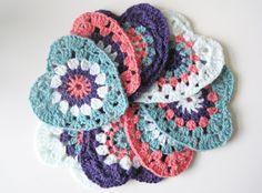How to: Crochet Heart Garland | Scarlet Pyjamas