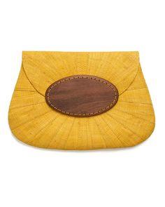 Mar Y Sol Opal Raffia Clutch Bag at FASHION CONSCIENCE
