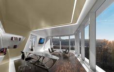 Küsnacht Villa in Zurich Switzerland by Zaha Hadid Architects