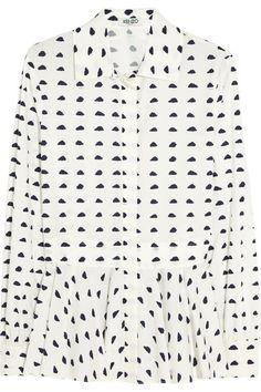 KENZO - Cloud-print cotton shirt  Net - A - Porter