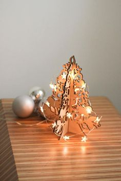 Universal Christmas Tree-Wooden Christmas Tree-Laser Cut
