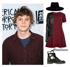 """Date with Evan Peters !!!!!!"" by mely-carrasco ❤ liked on Polyvore featuring River Island, See by Chloé, Boohoo and Zimmermann"