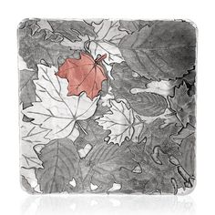 Autumn 9 inch Square Tray