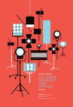 Jesse Kirsch - Film Festival Poster  Great graphic design