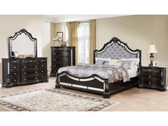Here are the King Bedroom Sets. This article about King Bedroom Sets was posted under the Home Design Ideas category. Glam Bedroom Set, King Bedroom Sets, Queen Bedroom, Bedroom Furniture Sets, Furniture Sale, Discount Furniture, Bedroom Ideas, Traditional Bedroom, High Quality Furniture