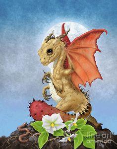 Potato Digital Art - Potato Dragon by Stanley Morrison Little Dragon, Baby Dragon, Magical Creatures, Fantasy Creatures, Fantasy Dragon, Fantasy Art, Dragon Series, Dragon Pictures, Dragon Pics