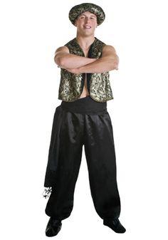 genie costume | Arab Genie Costume - Men's Genie Costumes