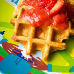 Kids Food Sweet Potato Waffels / Zoete Aardappel Wafels