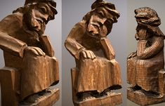 Scanned sculpture of Pensive Jesus Christ - Buy Royalty Free model by Mantas Talmantas ( Wooden Sculptures, Crown Of Thorns, Rural Area, Chess Pieces, The Crown, Jesus Christ, Carving, Christian, Statue