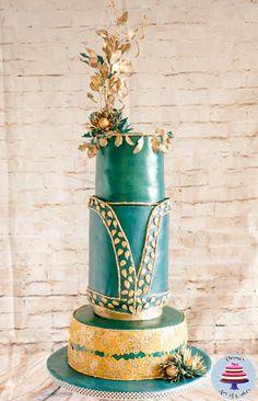 Zuhair Murad Fashion Inspired Collaboration Cake  - Cake by Veenas Art of Cakes