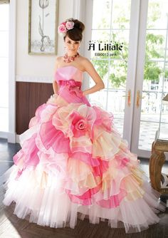 ballgown, a liliale, Wedding, wedding dress.