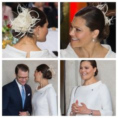 Här är fler härliga bilder på kronprinsessan Victoria och prins Daniel från onsdagens lunch på Stockholms Stadshus. Crown Princess Victoria and Prince Daniel at the official luncheon at Stockholm Town Hall for Chiles president Michelle Bachelet. (Foto: Stella Pictures)