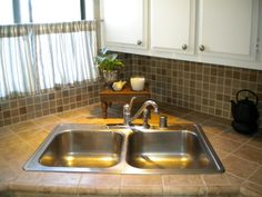 Mobile Home Kitchen Re Do On A Budget   Kitchen Designs   Decorating Ideas    HGTV Rate My Space (4)