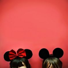 Mickey Mouse Ears!