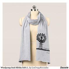 Windpomp Suid-Afrika Soft Jersey Scarf