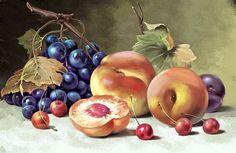 натюрморты с виноградом в живописи - Поиск в Google