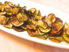 Sea Salt & Rosemary Zucchini chips!