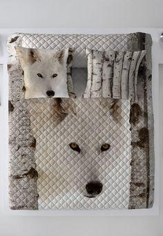 eecbdcfc621 Fashion Days - Pro snílky - Bílý prošívaný přehoz přes postel Wolf