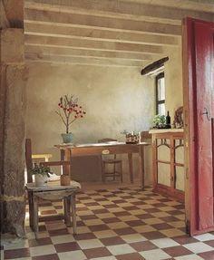 Artesana y con carácter ..    La baldosa hidráulica se fabrica con cemento, arena y pigmento. Muy típicas de las casas de finales del XIX y ...