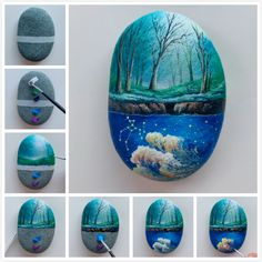 8 Best Rock Painting Ideas That Will Catch Your Eye – Pretty Art For Home Decor Rock can also be a work of art, and it is a very good ornament. In modern rock painting, it has gradually become a trend of new art Rock Painting Patterns, Rock Painting Ideas Easy, Rock Painting Designs, Pebble Painting, Pebble Art, Stone Painting, Stone Crafts, Rock Crafts, Painted Rocks Craft