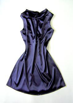 Satin Cocktail Dress