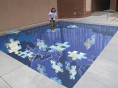 Amazing 3D Sidewalk Chalk