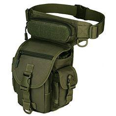 freedom-vp sport militare tattico multiuso Racing Drop Leg bag motorcycle Outdoor Bike Cycling Thigh bag marsupio per escursionismo caccia, Army