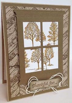 Just A Thought... Cards by Amy: PPA 221: A Touch of Fall