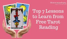 Top 7 Lessons to Learn from Free Tarot Reading: News Today History Of Tarot Cards, Free Tarot Reading, Daily Tarot, Tarot Learning, Beyond Words, Positive Mind, Card Reading, Reading Skills, New Hobbies