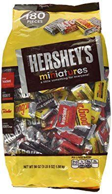 Hershey S Miniatures Chocolate Candy Hershey S Krackel And Mr