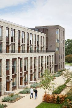Gallery of RIBA Reveals Shortlist for Neave Brown Award for Housing – 7 – Architecture Architecture Résidentielle, Sustainable Architecture, Contemporary Architecture, Cambridge Architecture, Architecture Sketchbook, Minimalist Architecture, Victorian Architecture, Architecture Portfolio, David Chipperfield Architects