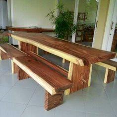 Jati Furniture Minimalis: KURSI DAN MEJA TERAS