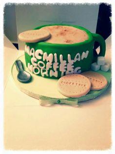 Macmillan coffee morning cake
