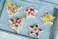 cookie cutter pizzas