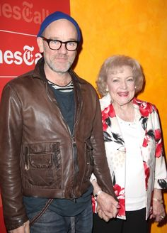 Betty White and Michael Stipe: America's sweethearts!