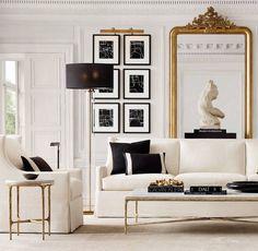 Black-and-white Living Room Rug Schwarzweiss-Wohnzimmerteppich Art Deco Living Room, Design Living Room, Design Room, Art Deco Room, Art Deco Decor, Studio Design, Wall Design, Design Design, Modern Design