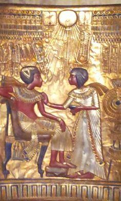 golden chair (detail)