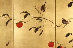 best ideas for japanese screen design asian art Nature Paintings, Modern Paintings, Tree Paintings, Gold Leaf Art, Japanese Screen, Feuille D'or, Japanese Prints, Modern Japanese Art, Art Japonais