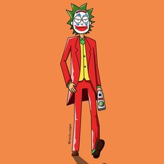 100 days of artwork: Here's your unsolicited Rick pic of the day sent as a joke. Tatuaje Rick And Morty, Rick And Morty Tattoo, Rick And Morty Image, Rick I Morty, Rick And Morty Crossover, Rick And Morty Characters, Rick And Morty Stickers, Rick And Morty Poster, Joker Poster