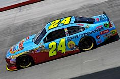Jeff Gordon, driver of the No. 24 Drive to End Hunger Chevrolet, finished third in the NASCAR Sprint Cup Series event at Bristol (Tenn.) Motor Speedway on Aug. 25.